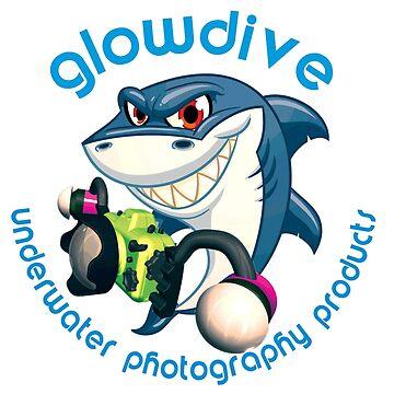 Shark Glowdive by underwaterart