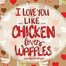 Chicken & Waffles by Jacquelyn  Carter