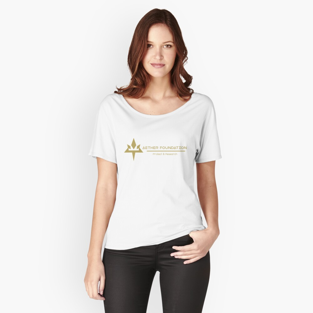 Äther-Stiftung Loose Fit T-Shirt