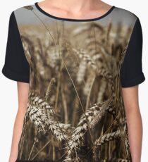 Corn Field Women's Chiffon Top