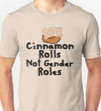 Cinnamon Rolls nicht Geschlechterrollen Slim Fit T-Shirt