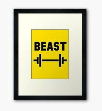 Beast (Cartman Tee) Framed Print