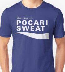 Pocari Sweat Japanese Logo Unisex T-Shirt