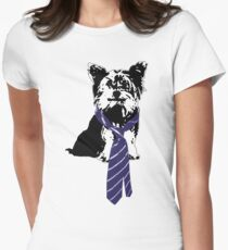 TGIF, Mr. Yorkie Women's Fitted T-Shirt
