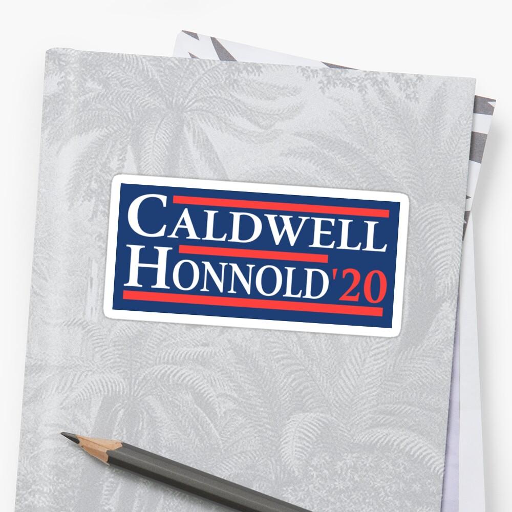 Caldwell Honnold 2020 Sticker