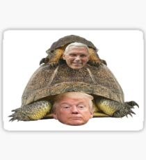 Trump Pence Turtle Sticker