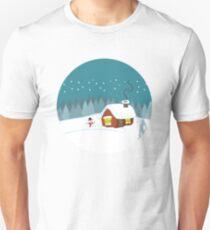 Winter Snow Unisex T-Shirt