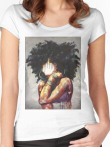 Naturally II Women's Fitted Scoop T-Shirt