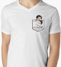 Tiny Hook Men's V-Neck T-Shirt