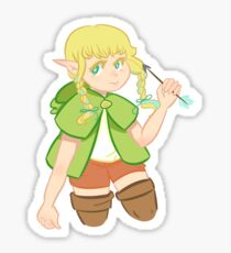 The Cutest Adventurer Sticker