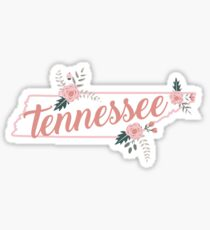 Tennessee Floral State Sticker