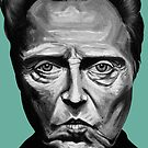 Walken in Black and White by Kelly King