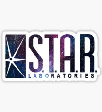 Galaxy S.T.A.R. Labs Sticker