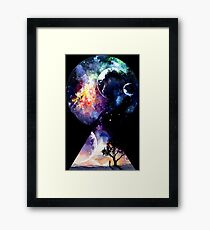 Galaxy - We are all Made of Star Stuff Framed Print