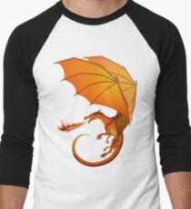Wings of Fire - Peril Men's Baseball ¾ T-Shirt
