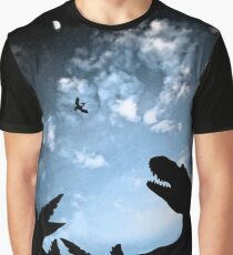 Jurassic Sky Graphic T-Shirt