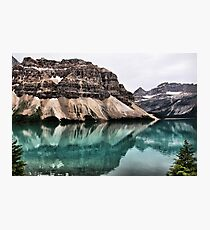 Bow Lake Photographic Print