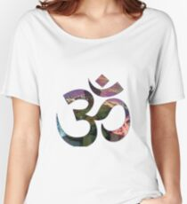 Psychedelic Ohm Women's Relaxed Fit T-Shirt
