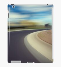 Driving at speed iPad Case/Skin