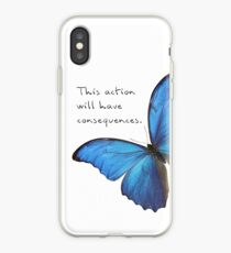 Consequences iPhone Case