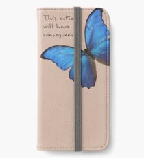 Consequences iPhone Wallet/Case/Skin