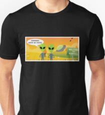 UFO Aliens: Remember Where We Parked  T-Shirt