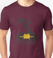Why'd it have to be Snakes? Unisex T-Shirt