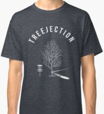 Funny Disc Golf Treejection Classic T-Shirt