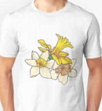 Daffodil - March Birth Flower Unisex T-Shirt