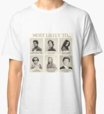 That 70s Show Most Likely To... Yearbook Quotes Classic T-Shirt