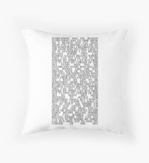 corner of the sky. Throw Pillow