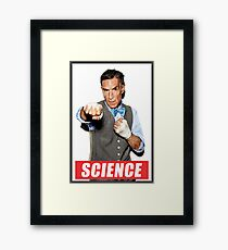 BILL NYE Framed Print