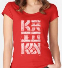 Kaioken Women's Fitted Scoop T-Shirt
