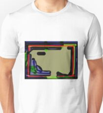 blank space abstract Unisex T-Shirt