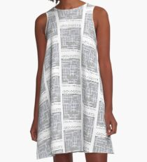 Geologists know all the clues - II (igneous words) A-Line Dress