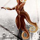 Dancing Octopus by kishART