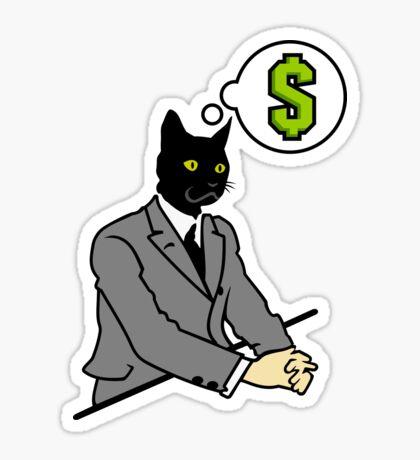 Cat Man VRS2 Sticker