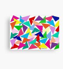 52 TRIANGLES Canvas Print