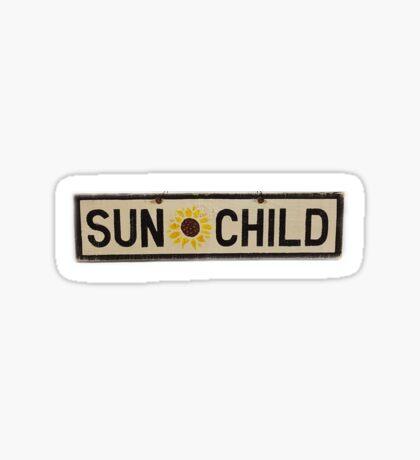 Sun Child Sticker