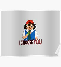 I Choose You Poster
