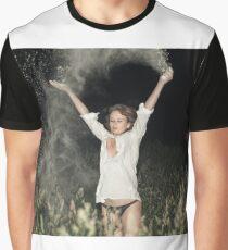 Cocaine Rain Graphic T-Shirt