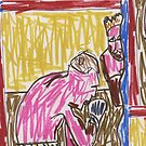 Francis Bacon Archive I (2010) (Boxing) - drawing by artcollect by artcollect