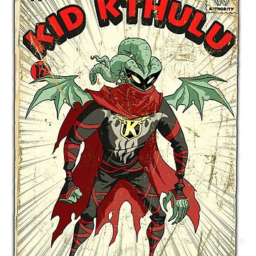 Strange Adventure Stories #1: Kid Kthulu! by tnperkins