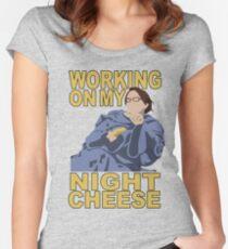 Liz Lemon - Night cheese Women's Fitted Scoop T-Shirt
