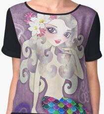 Amethyste Mermaid Chiffon Top
