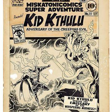 Miskatonicomics Super Adventure #11 Lost Inks by tnperkins