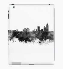 Mobile skyline in black watercolor iPad Case/Skin