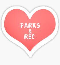 Parks & Rec Sticker Sticker