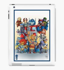 80's Cartoon Mashup iPad Case/Skin