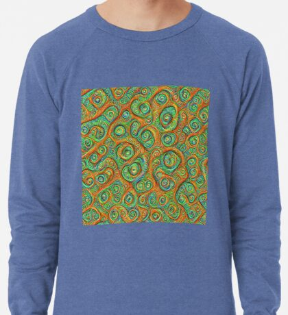 Green Red #DeepDream Lightweight Sweatshirt
